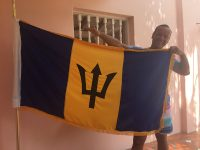 Proud Flying the Barbados Flag 2017