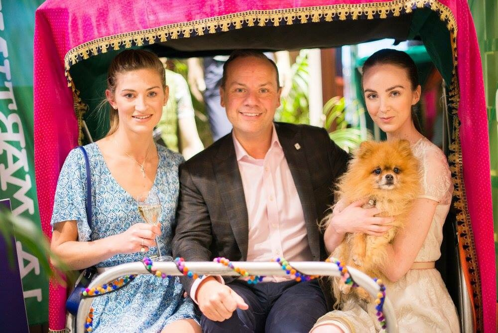My friends at La Martina hosted a fabulous Champagne Reception and Indian Canapes April 2017
