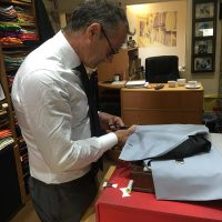 My tailor and friend Adrian - Volpe in Victoria