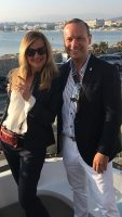 All Aboard! Cannes March 2017 MIPIM Property Show with my business partner Aida Feriz www.interestateseurope.com