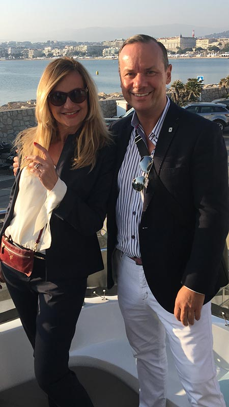All Aboard! Cannes March 2017 MIPIM Property Show with my business partner Aida Feriz www.interestateseurope.com